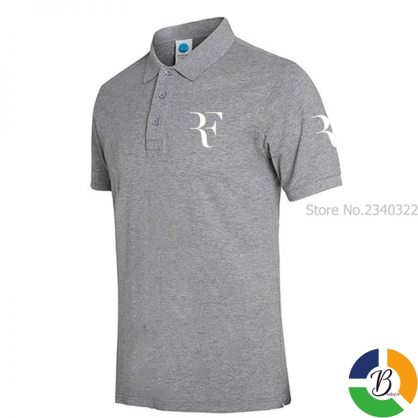 High Quality Men Polo Brand New Men RF roger federer Polos Short Sleeve Casual Business Work 1 » Brabeton » The People's Marketplace » 29/09/2020