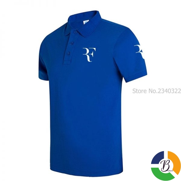 High Quality Men Polo Brand New Men RF roger federer Polos Short Sleeve Casual Business Work 2 » Brabeton » The People's Marketplace » 29/09/2020