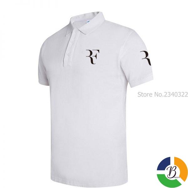 High Quality Men Polo Brand New Men RF roger federer Polos Short Sleeve Casual Business Work 3 » Brabeton » The People's Marketplace » 29/09/2020