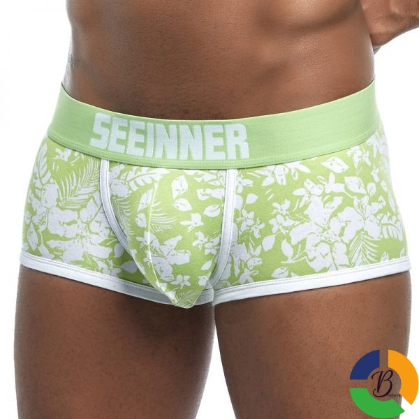 New Brand Male Panties Breathable Boxers Cotton Men Underwear U convex pouch Sexy Underpants Printed leaves 4 » Brabeton » The People's Marketplace » 01/10/2020