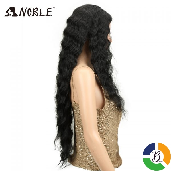 Noble Long Black Wig Deep Wave High Temperature Fiber Middle Part 30 Inch 150 Heavy Density 1 » Brabeton » The People's Marketplace » 03/08/2021