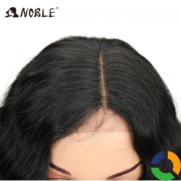 Noble Long Black Wig Deep Wave High Temperature Fiber Middle Part 30 Inch 150 Heavy Density 4 » Brabeton » The People's Marketplace » 03/08/2021