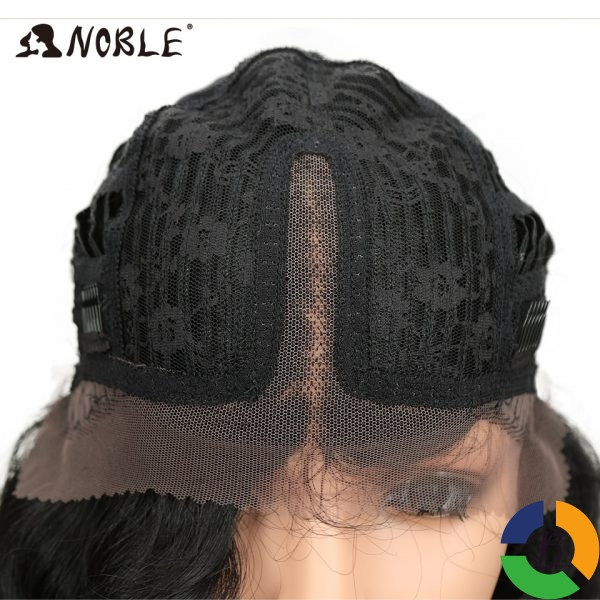 Noble Long Black Wig Deep Wave High Temperature Fiber Middle Part 30 Inch 150 Heavy Density 5 » Brabeton » The People's Marketplace » 03/08/2021