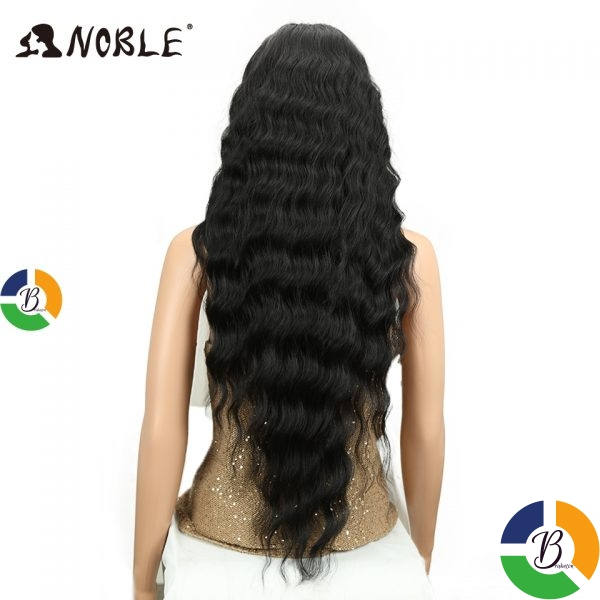 Noble Long Black Wig Deep Wave High Temperature Fiber Middle Part 30 Inch 150 Heavy Density » Brabeton » The People's Marketplace » 03/08/2021