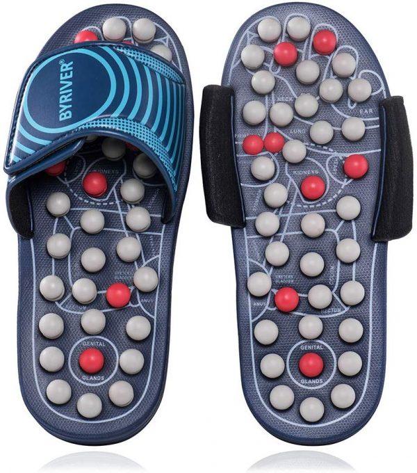 Non-slip massage slippers Brabeton