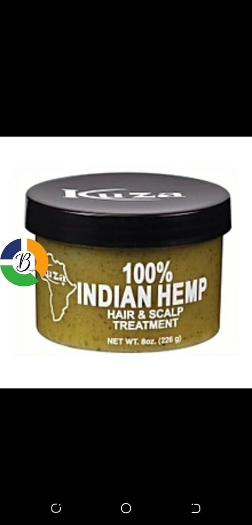 Indian Hemp Hair & Scalp Treatment - Brabeton