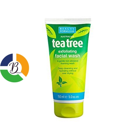 Teetree Exfoliating Facial Cream - bRABETON