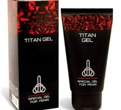 Titan Gel, penis enlargement cream - Brabeton