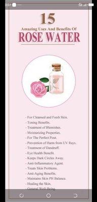 Rose Water benefits- Brabeton