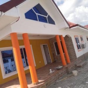 3bedroom detached house located at Adenta municipality Oyibi