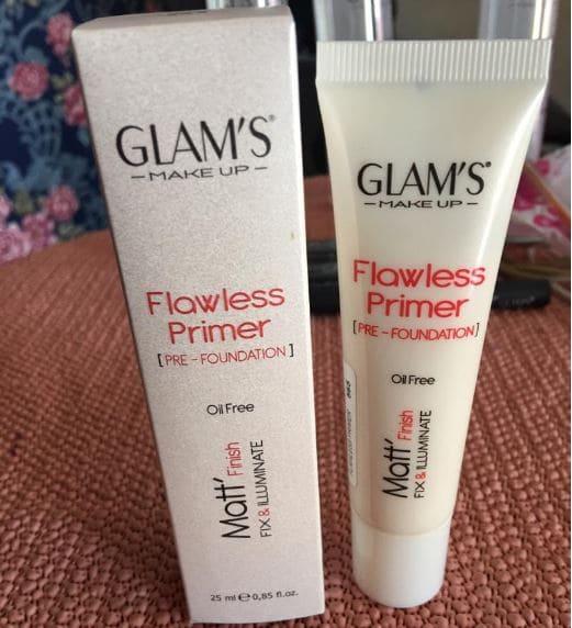 Glam's Flawless Primer Pre-Foundation Brabeton