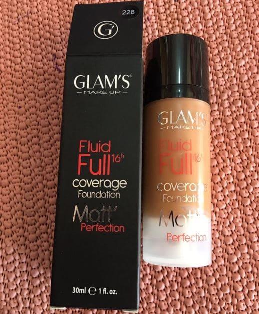 Glam's Fluid Full Coverage Foundation Brabeton