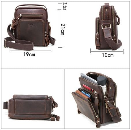 Qualtiy Multi Purpose Leather Shoulder Bags With Large Capacity 6 » Brabeton » The People's Marketplace » 19/01/2021