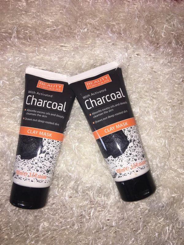 Charcoal Clay Mask - Brabeton