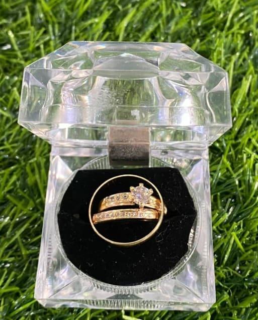 Gold Dust Ring - Brabeton