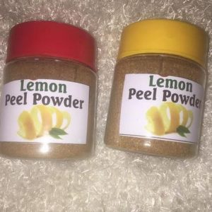Lemon Peel Powder - Brabeton