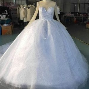 Modern Wedding Dress- Brabeton