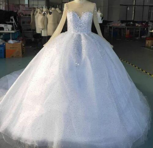 Modern Wedding Dress- Brabeton