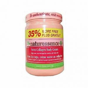 Nature Essence Swiss Collagen Body Cream - Brabeton