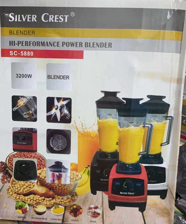 Silver Crest Commercial Blender