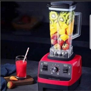 Silver Crest Commercial Blender - Red