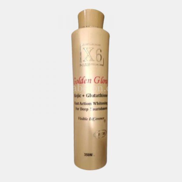 X6 Gold Glow aKojic Glutathione Lotion